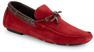 Bugatchi Italian Leather Moccasins