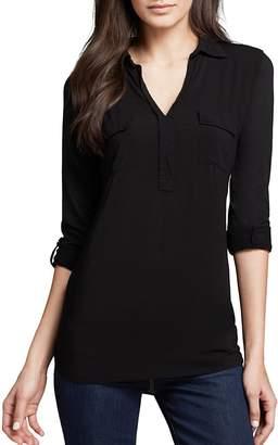 Splendid Shirt - Pocket Henley $88 thestylecure.com