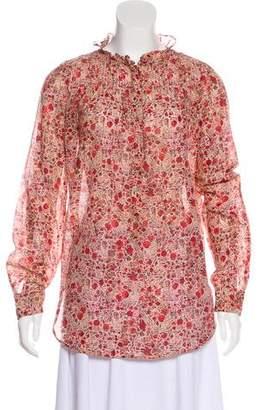 Etoile Isabel Marant Long Sleeve Button-Up Blouse
