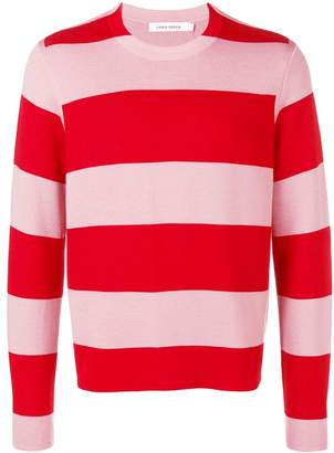 Craig Green striped crew neck jumper