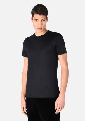 Emporio Armani Silk Blend T-Shirt