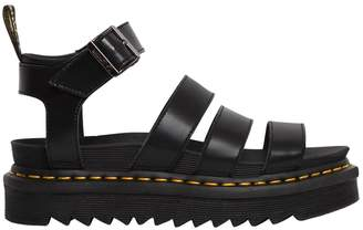 Dr. Martens 40mm Blaire Faux Leather Sandals