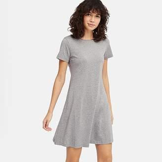 5ebbb7c7f964f Uniqlo Women s A-line Short-sleeve Mini Bra Dress
