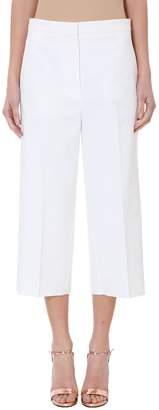 Rochas White Cotton Truosers