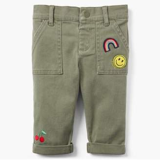 Gymboree Patch Cropped Pants