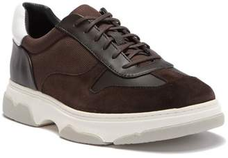 Modern American Designer Pauly Contrast Leather Sneaker