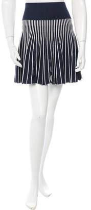 Opening Ceremony Striped Flared Skirt w/ Tags