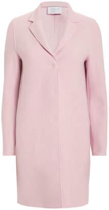 Harris Wharf London Blush Cocoon Coat