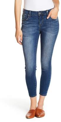 KUT from the Kloth Donna High Rise Ankle Skinny Jeans (Petite)