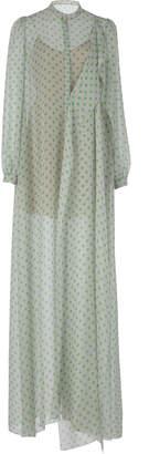 DELPOZO Polka-Dot Shirt Dress