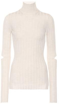 Helmut Lang (ヘルムート ラング) - Helmut Lang Ribbed turtleneck wool sweater
