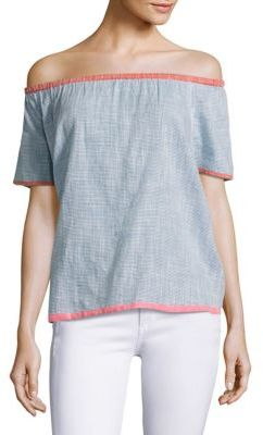 Joie Soft Joie Mikina Striped Top $148 thestylecure.com