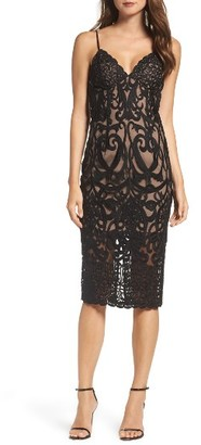 Women's Bardot Gia Lace Pencil Dress $159 thestylecure.com
