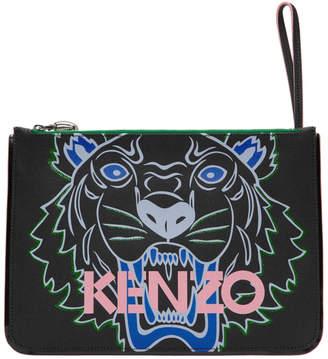 Kenzo Black Tiger A4 Pouch