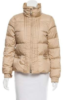 Max Mara Short Puffer Coat