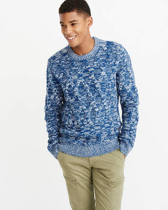 Abercrombie & Fitch Cable Crew Sweater