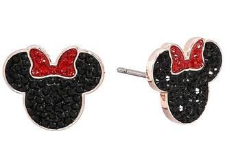 Swarovski Mickey Minnie Pierced Earrings