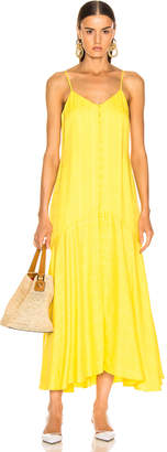 Mara Hoffman Diana Dress in Yellow   FWRD