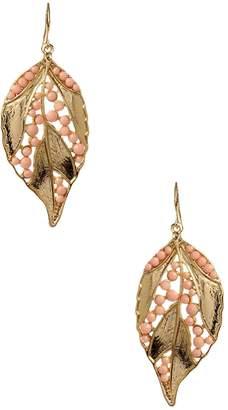 Amrita Singh Women's Tera Leaf Drop Earrings