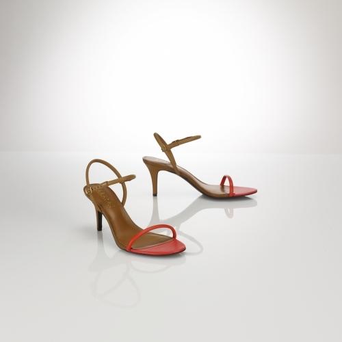 Ralph Lauren Taja Color-Blocked Sandal