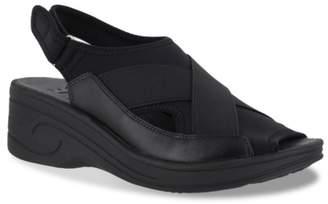 Easy Street Shoes Delight Wedge Sandal