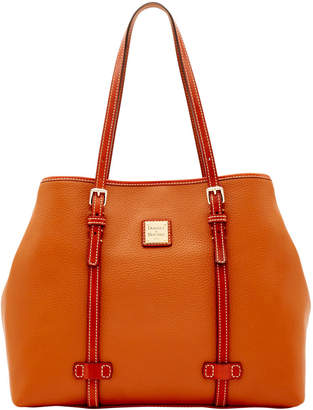 Dooney & Bourke Pebble Grain Side Snap Tote