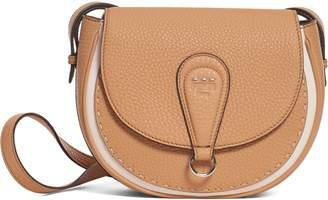 3a9adffb95 Fendi Messenger Selleria Leather Shoulder Bag