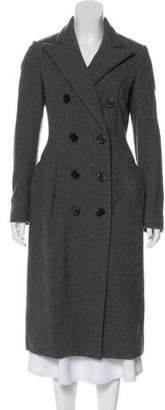Lanvin Double-Breasted Wool Coat w/ Tags