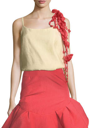 Rosie Assoulin Camisole w/Removable Flower Garland