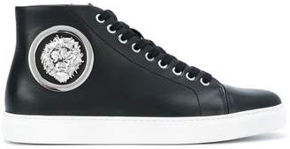 Versus logo stud lace up shoes