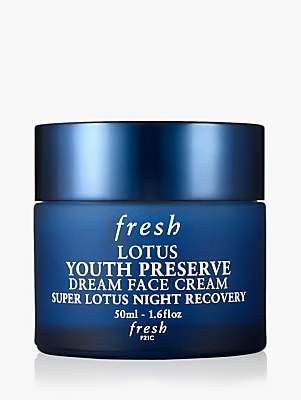 Fresh Lotus Youth Preserve Dream Face Cream Super Lotus Night Recovery