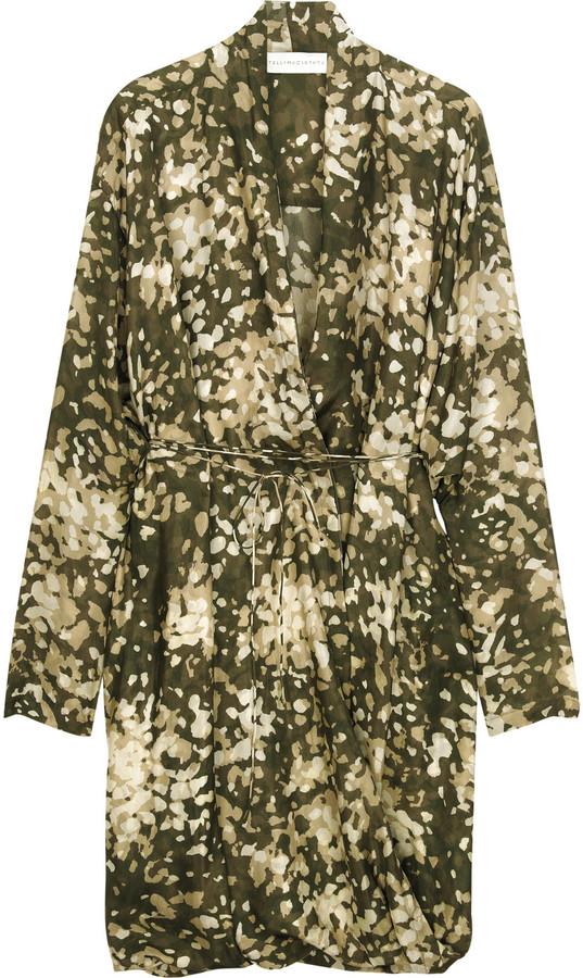 Stella McCartney Floral-print silk-georgette dress