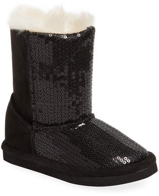 L'amour & Angel Sequined Boot
