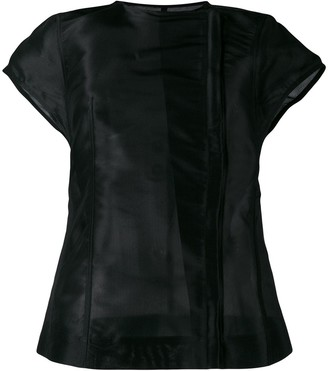 Rick Owens short sleeve jacket