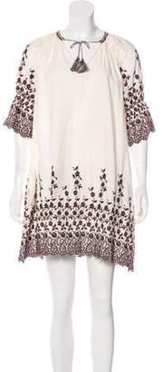 Ulla Johnson Embroidered Midi Dress