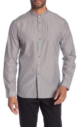 John Varvatos Striped Classic Fit Dress Shirt