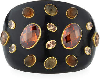Ashley Pittman Dola Dark Horn Cuff Bracelet