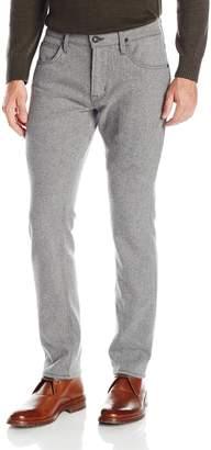 Hudson Jeans Men's Blake Slim Straight Zip Fly Woolen Pant
