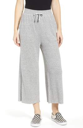 BP Knit Crop Wide Leg Pants