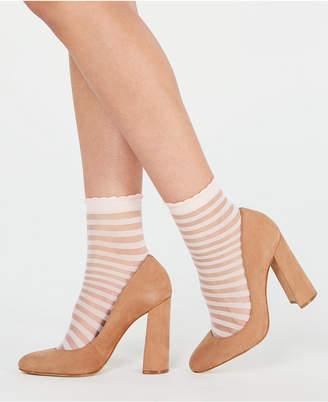 bb77c6f8ce84c INC International Concepts I.n.c. 2-Pk. Sheer Stripe Ankle Socks