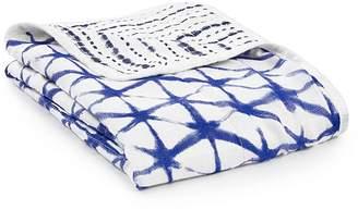 Aden Anais aden + anais Silky Soft Stroller Blanket, Indigo Shibori