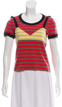 Sonia Rykiel Embellished Striped T-Shirt