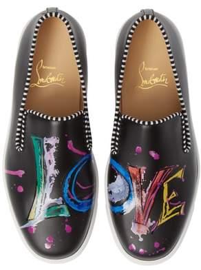 Christian Louboutin Loubi Love Slip-On Sneaker