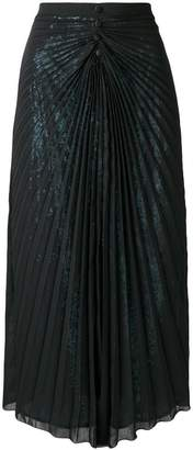 Marco De Vincenzo pleated layered skirt