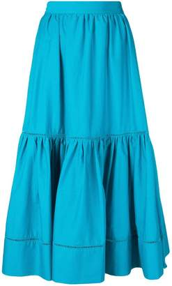 Twin-Set midi wide skirt
