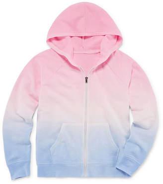 Arizona Long Sleeve LA Surf Hooded Sweatshirt - Girls' 4-16 & Plus