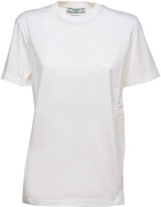 Prada Linea Rossa Logo Patch T-shirt