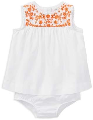 Ralph Lauren Girls' Embroidered Top & Bloomers Set - Baby