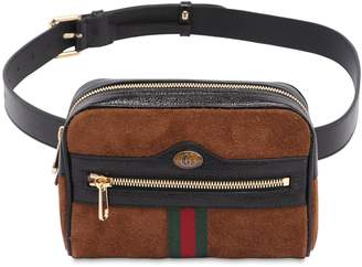 Gucci Small Ophidia Suede Belt Pack