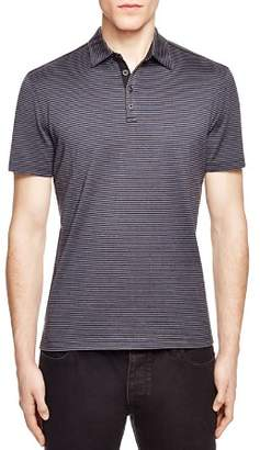 John Varvatos Collection Striped Slim Fit Polo